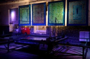 Wystawa Tkane Sita - Muzeum Lniarstwa