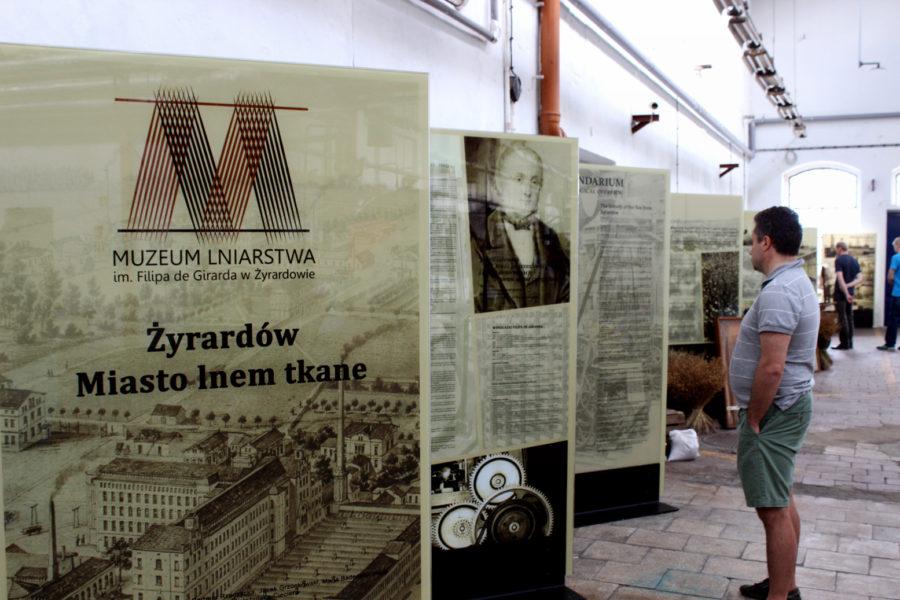 """Wystawa """"Żyrardów. Miasto lnem tkane"""""""