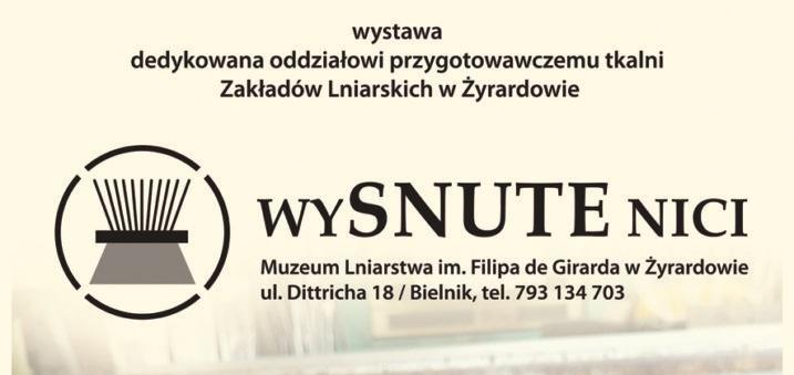 """Wystawa """"wySNUTE nici"""""""